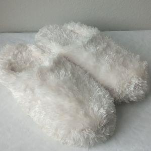 Secret White Slippers
